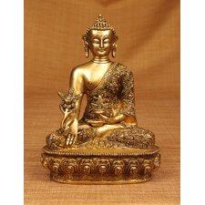 Brass Series Nepalese Earth Touching Buddha Figurine