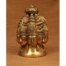 Brass Series Shiva 8 Faces Figurine