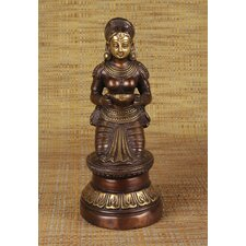 Brass Series Sitting Deep Laxmi Figurine