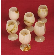 <strong>Miami Mumbai</strong> Wine Glasses (Set of 6)