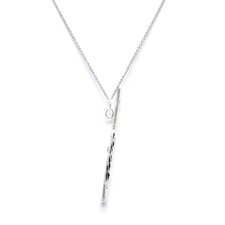 Sterling Silver Flute Charm