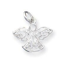 Sterling Silver Filigree Angel Charm