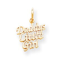 Daddys Little Girl Charm