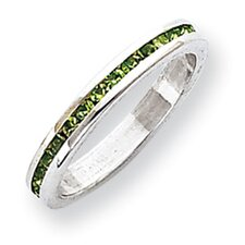 Sterling Silver 2.75mm Eternity Band Ring