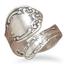 Sterling Silver Adjustable Spoon Ring