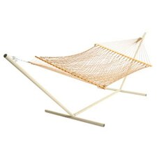 Deluxe Rope Hammock with Stand