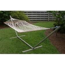 <strong>Castaway Hammocks</strong> Rope Hammock with Stand