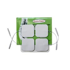<strong>ProMed Specialties</strong> Pack of 4 Econo-Patch Electrodes in White Foam