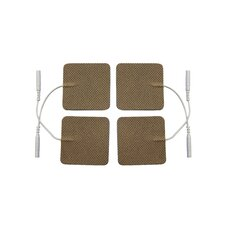 Pack of 4 Cloth Electrodes in Tan
