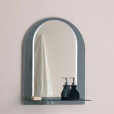 Badspiegel gewölbt in Chrom