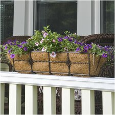 Antoinette Rectangle Railing Planter