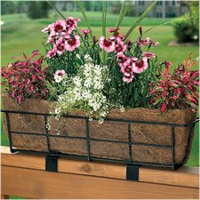 Canterbury Rectangle Railing Planter
