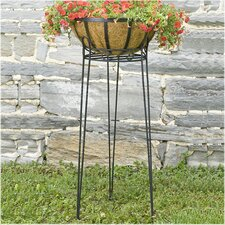 Canterbury Round Scroll Top Plant Stand
