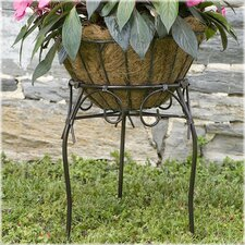 Kingston Scroll Round Plant Stand