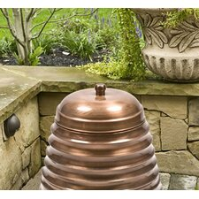 Beehive Steel Hose Holder Lid