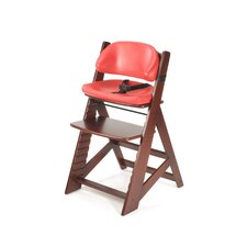 Height Right Kids Chair in Mahogany and Comfort Cushion in Cherry