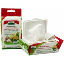 Bamboo Baby Hand and Face Wipes