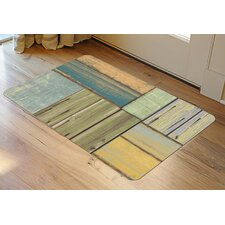 uPatchwork Wood Decorative Mat
