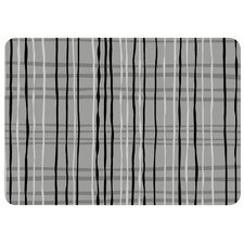 <strong>Bungalow Flooring</strong> Loose Plaid Decorative Mat
