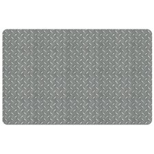 <strong>Bungalow Flooring</strong> Diamond Plate Decorative Mat