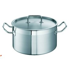 Profi Lini i Stainless Steel Deep Casserole with Lid