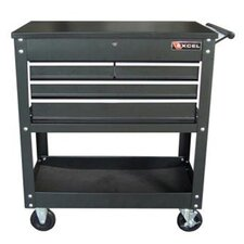 "33.5"" Wide 4 Drawer Service Cart"