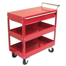 "29"" Metal Tool Cart"
