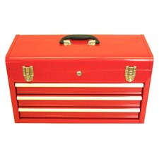"20.5"" Portable Metal Tool Box"