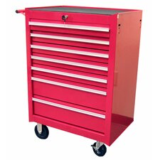 "26.8"" Roller Cabinet with 7 Drawers"