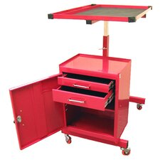<strong>Excel Hardware</strong> Adjustable Metal Tool Cart