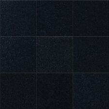 "4"" x 4"" Polished Granite Tile in Black Granite"