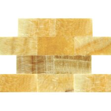 Polished Tile in Giallo Crystal Onyx