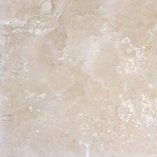"12"" x 12"" Honed Travertine Tile in Durango Antique"