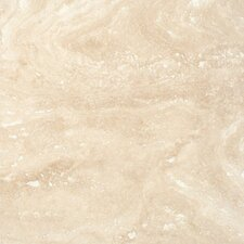 "SAMPLE - 18"" x 18"" Honed Travertine Tile in Tuscany Ivory"