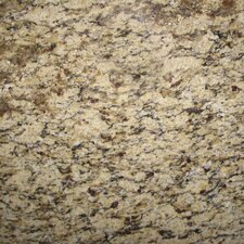 "18"" x 18"" Polished Granite Tile in Amber Yellow"