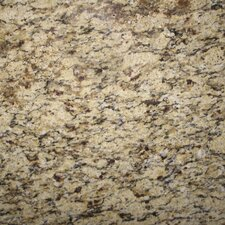 "12"" x 12"" Polished Granite Tile in Amber Yellow"