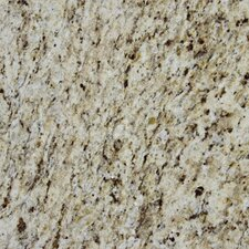 "18"" x 18"" Polished Granite Tile in Giallo Ornamental"