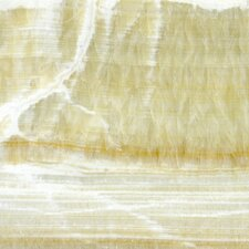 """18"""" x 18"""" Polished Tile in Giallo Crystal Onyx"""