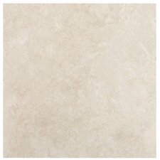 "SAMPLE - Travertino 18"" x 18"" Porcelain Tile in Beige"