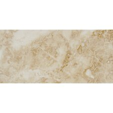 "<strong>MS International</strong> Pietra Cappuccino 24"" x 12"" Porcelain Polished Floor and Wall Tile in High Gloss"