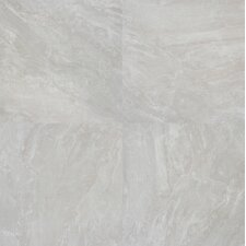 "Pietra Pearl 18"" x 18"" Porcelain Polished Floor and Wall Tile in High Gloss"