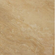 """Pietra Royal 12"""" x 12"""" Porcelain Polished Floor and Wall Tile in Glazed"""