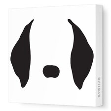 Animal Face - Floppy Ears Stretched Wall Art