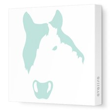 <strong>Avalisa</strong> Animal Face - Horse Stretched Wall Art