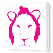 Animal Face - Lion Stretched Wall Art