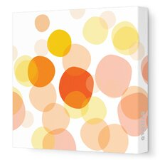 Imaginations Bubbles Stretched Canvas Art