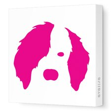 Animal Face - Dog Stretched Wall Art