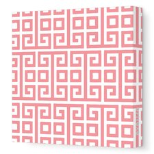 Pattern - Squares Stretched Wall Art