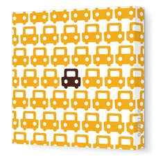 Things That Go - Auto Pattern Stretched Wall Art