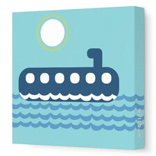 Things That Go - Submarining Stretched Wall Art